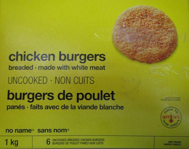 Loblaw Recalls No Name Chicken Burgers Over Salmonella