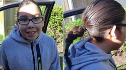 After A Kid Cut Off This Boy's Braid, His Mom Took The High