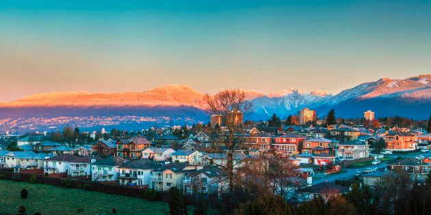 Homes in the Greater Vancouver city of Burnaby, B.C. Home sales across Metro Vancouver tumbled last month,...