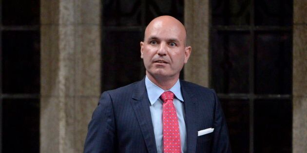 NDP MP Nathan Cullen asks a question during question period in the House of Commons on Parliament Hill...
