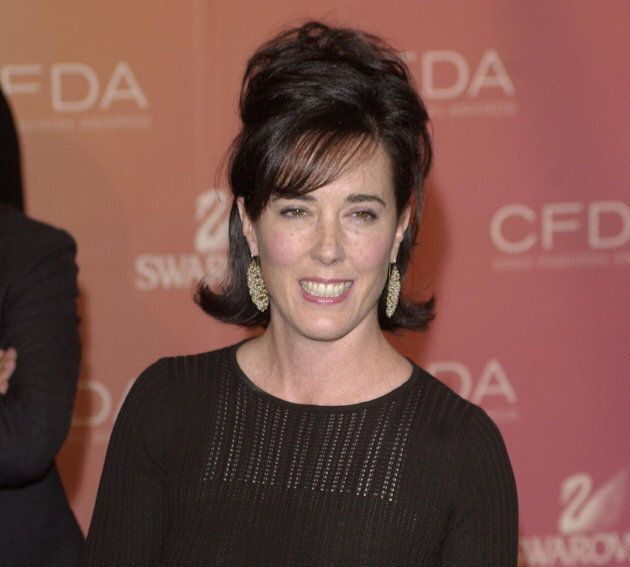 Kate Spade arrives at the Council of Fashion Designers of America awards in New York on June 2, 2003,...