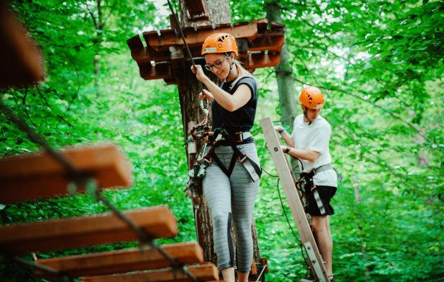 Camp Fortune Aerial Park and
