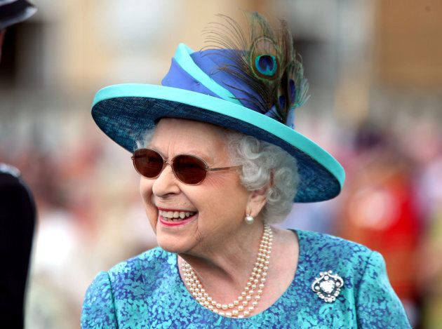 Queen Elizabeth II hosts a Garden Party at Buckingham Palace on May 31.