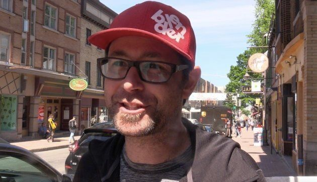 Sébastien Dumais owns Blender Bar in Quebec City and he says he is prepared for the possibility of violence...