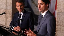 Trudeau, Macron Say Trump Tariffs Are Illegal And Bad For
