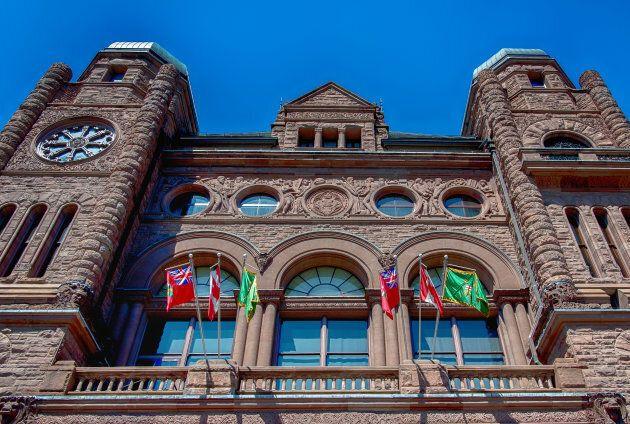 Ontario Legislative Building in