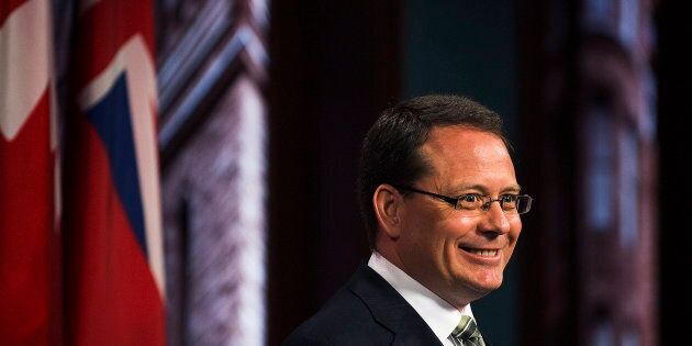 Green Party of Ontario Leader Mike Schreiner has become his party's first-ever elected