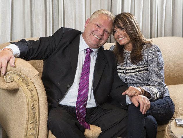 Doug and Karla Ford sit down for an exclusive interview in their home with the Toronto Star in