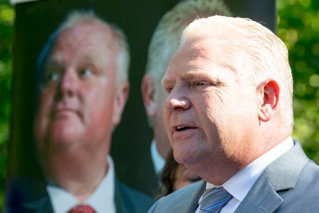 Doug Ford announced a new book on Sept. 13, 2016, about the Ford Family, including his brother former...