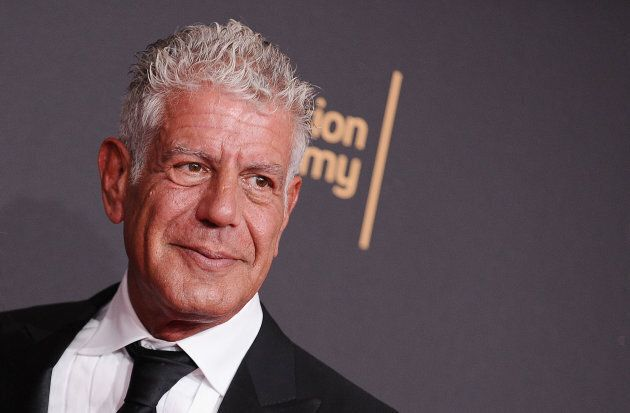Anthony Bourdain attends the 2017 Creative Arts Emmy Awards at Microsoft Theater on Sept. 9, 2017 in Los Angeles.