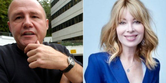 Former broadcaster Mike Bullard pleaded guilty to making harassing phone calls to his ex-girlfriend, CityNews reporter Cynthia Mulligan.