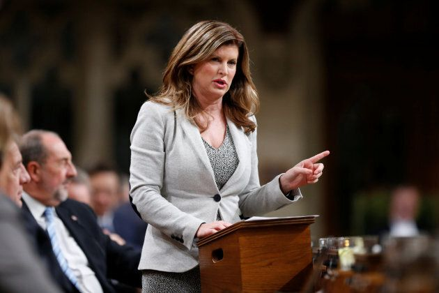 Rona Ambrose speaks during question period in the House of Commons on Parliament Hill in Ottawa on Oct....