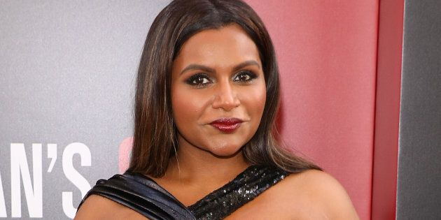 Mindy Kaling attends the world premiere of