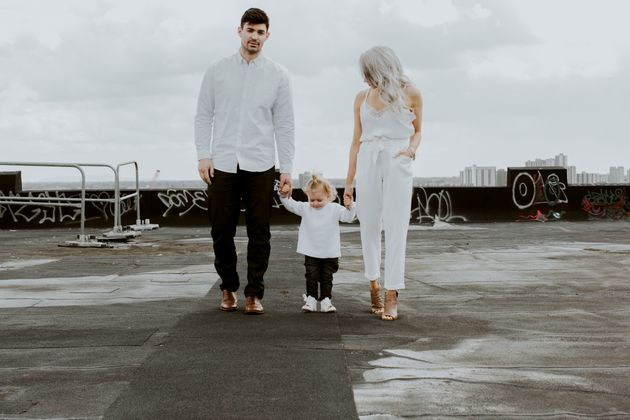 Montreal Canadiens goaltender Carey Price with daughter Liv, 2, and his wife