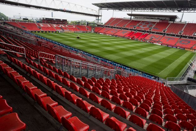 BMO Field in Toronto is pictured on