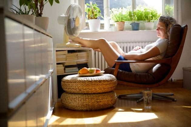 How To Stay Cool When You're Pregnant And Sweating For