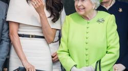 The Queen Showed Meghan Markle The Ropes On Their 1st Outing