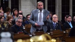 Mulcair Calls On Canada To Champion Democracy In Final Commons