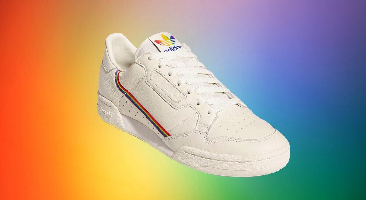 Adidas Launches Rainbow-Coloured