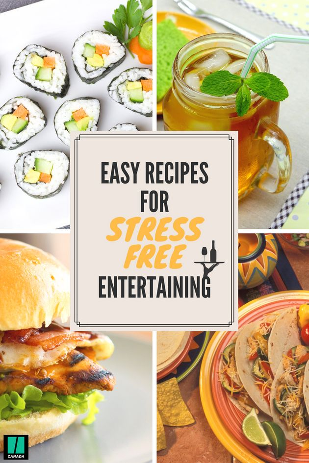 Easy Recipes For Stress-Free