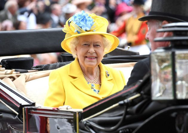 Queen Elizabeth II attends Royal Ascot Day 1.