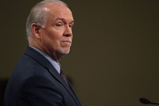 B.C. Premier John Horgan, who has a coalition of sorts with the Green Party, opposes the pipeline expansion project.