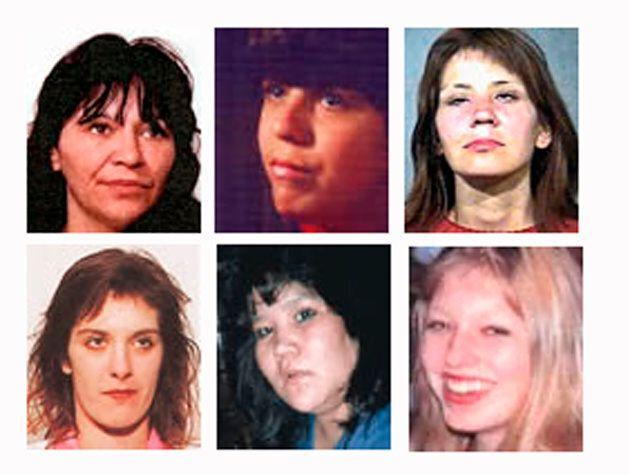 Six of the women accused Canadian serial killer Robert