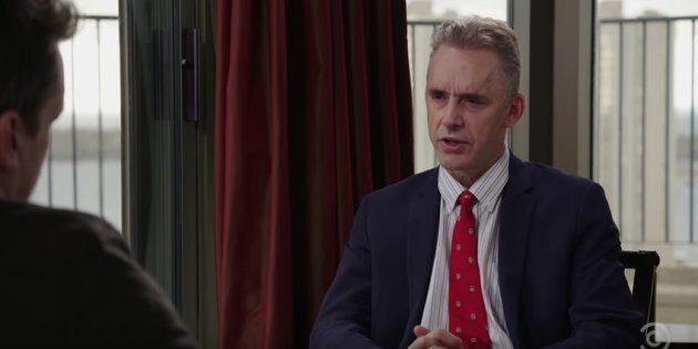 University of Toronto professor Jordan Peterson appears on the Jim Jefferies