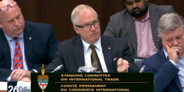 MPs on the standing committee on international trade were recalled to Ottawa on Tuesday to hear from...