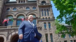 Ford's Swearing-In As Ontario Premier To Include Outdoor