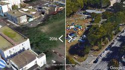 Google Street View Photos Capture Vancouver's Homelessness