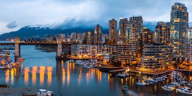 The False Creek area of Vancouver. The city has tied with Toronto for the most expensive urban area in...
