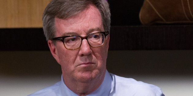 Ottawa Mayor Jim Watson, seen on Jan. 28, 2016, is encouraging invitees to boycott a Fourth of July party...