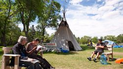 Sask. Premier Wants Police To Remove Teepees From Legislature