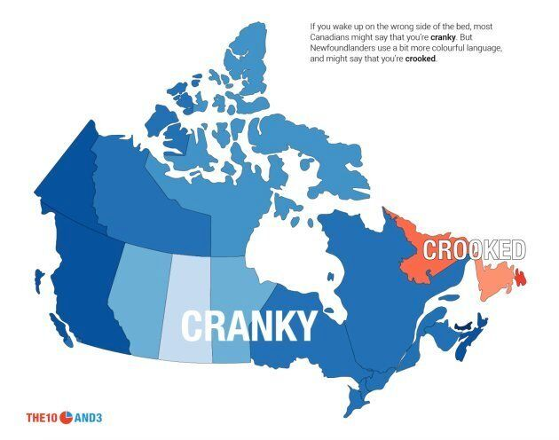 The Most-Googled Canadian Slang Differs From Province To Province (And
