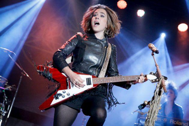 Serena Ryder performs on Day 2 of the Ottawa Folk Festival on September 11,
