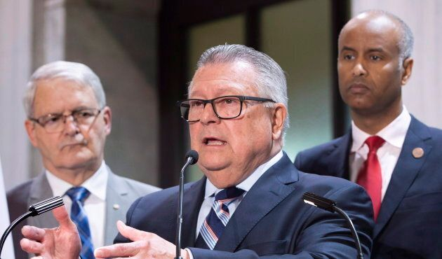 Public Safety Minsiter Ralph Goodale discusses the situation of irregular migration as Immigration Minister...