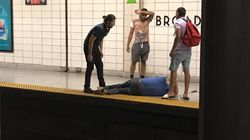 Bystanders Leap Into Action To Save Blind Man From Toronto Subway