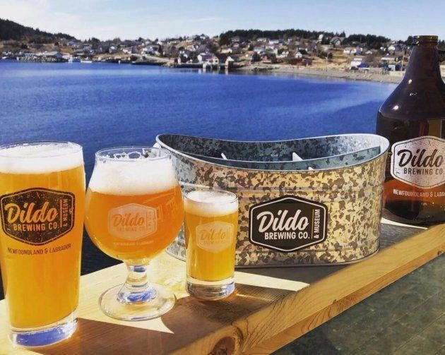 Dildo Brewing Co. and Museum products are seen in this undated handout photo.