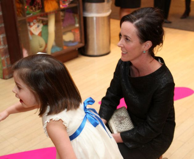 Frances Beatrix Spade and designer Kate Spade attend the 18th annual Bunny Hop to benefit the Society...