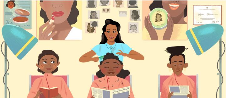 Demond was a successful businesswoman with her own salon.