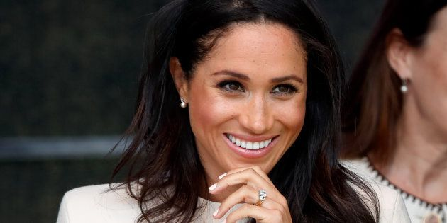 The Duchess of Sussex attends a ceremony to open the new Mersey Gateway Bridge on June 14, 2018 in Widnes,