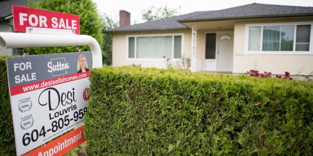 A house for sale in Vancouver, B.C., Tues. June, 12.