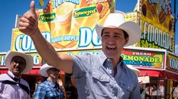 Canadian Politicians Don Their Best Cowboy Gear At The Calgary