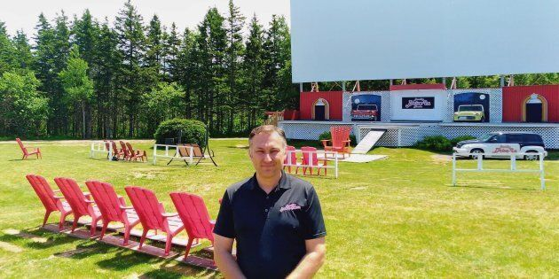 Bob Boyle, owner of the Brackley Drive-In Theatre in Brackley Beach, P.E.I., says a requirement that...