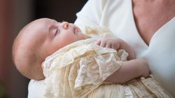 Prince Louis Is A Sleeping Angel At His Royal
