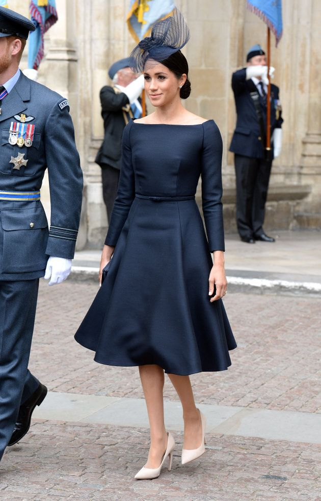 Meghan, Duchess of Sussex during the RAF Centenary at Westminster Abbey,