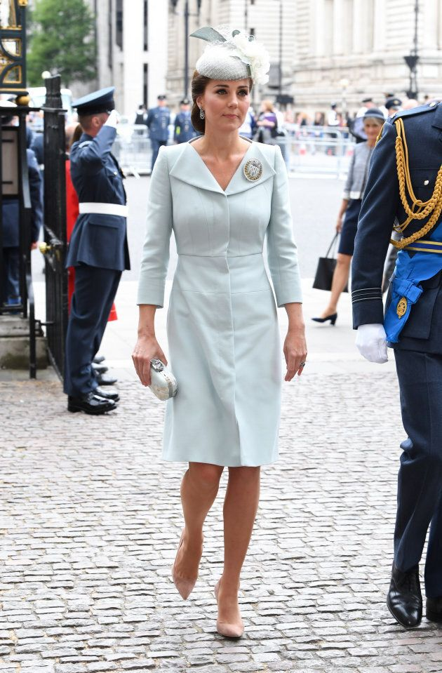 Catherine, Duchess of Cambridge during the RAF Centenary at Westminster Abbey,
