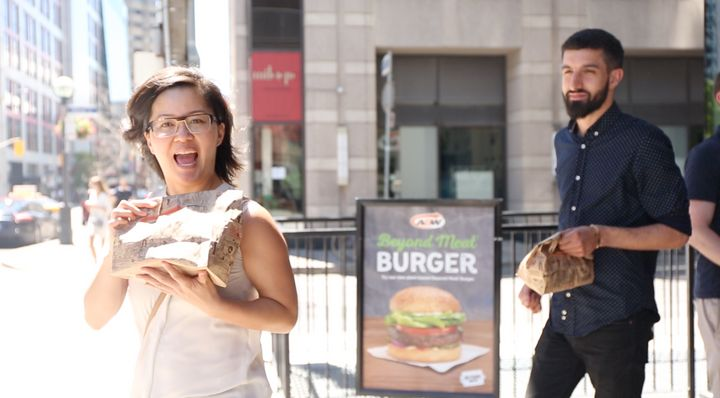Clearly, burgers make us happy.
