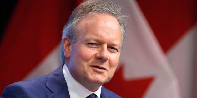Bank of Canada Governor Stephen Poloz speaks at a press conference after releasing the June issue of...